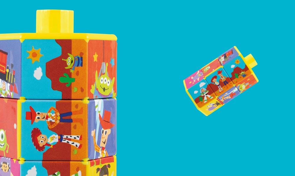 ディズニー知育玩具で「遊んでみたよ!」・第1回「くるくるちえパズル」
